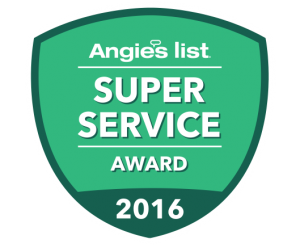 2016 super service award Angie's List